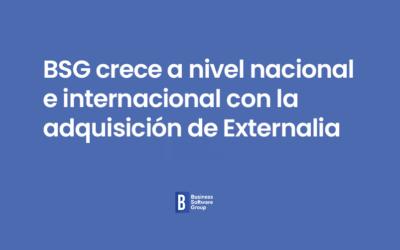 BSG crece a nivel nacional e internacional con la adquisición de Externalia.